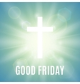 Good Friday background vector image