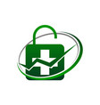 health center insurance vector image