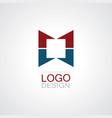 square company logo vector image