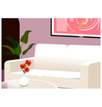 Home Lounge Background vector image