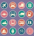 transport icon vector image