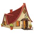 Fantasy House vector image