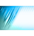 abstract lines blue vector image vector image