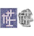 Crosswords vector image vector image