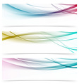 Contemporary transparent speed swoosh wave header vector image