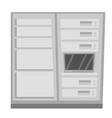 data center cartoon vector image