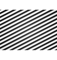 Black and white stripes pattern design vector image