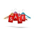 Clothes hanger sale labels vector image vector image