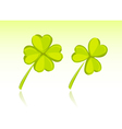 Clover Couple vector image