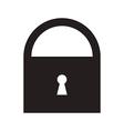 Lock symbol vector image vector image