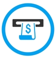 Paper Receipt Slot Rounded Icon vector image