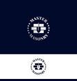 logo for masonry master vector image