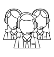 Support assistants technical icon vector image