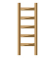 Ladder isolated flat style vector image