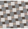 pastel beige tiles seamless pattern vector image