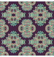 geometry paisley vintage floral seamless pattern vector image