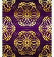 artistic wallpaper pattern vector image vector image