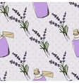 Health and Nature Collection Lavender vector image vector image