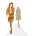 Fashion show vector image