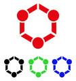 human union icon vector image