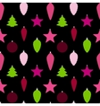 Abstract Beauty Christmas and New Year Seamless vector image vector image