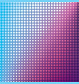 creative halftone pattern design vector image