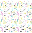 Memphis pattern design Seamless print in vector image