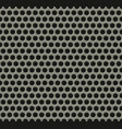 seamless tiling metal grill pattern vector image