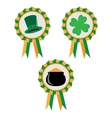 St Patrick's Day banners vector image