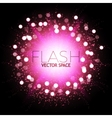 Abstract Colorful Explosion Firework and Flash vector image