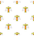 carousel with seats on chains for children vector image