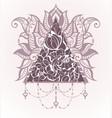lotus logo templates vector image