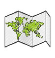 map icon image vector image