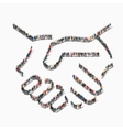 people handshake partnership icon vector image