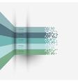 Infographics design variation 3 vector image vector image