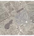 gruge newspaper vector image