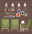 room design vector image