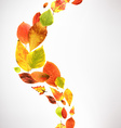 Autumn Wallpaper vector image vector image