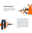 Fashion design services vector image