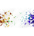 geometric abstraction vector image