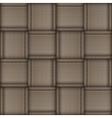 Wicker skin pattern vector image vector image