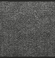 distressed overlay texture of weaving fabric vector image