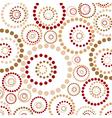abstract circles pattern vector image vector image