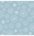 Abstract Silver Bubbles Seamless Pattern vector image
