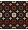 Boho tribal seamless pattern vector image