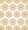 Classic Gear or Cogwheel Pattern on Pastel Color vector image