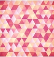 Red abstract triangle vintage background vector image