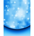 elegant christmas blue background eps 8 vector image