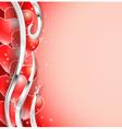 balloons hearts vector image vector image