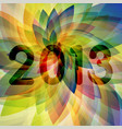new year 2013 backdrop vector image